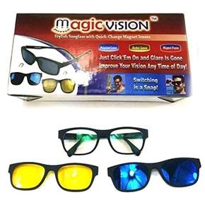 Magic Vision Sunglass 3 in 1