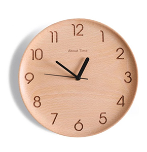 Xiaomi About Time Wood Wall Clocks 24cm